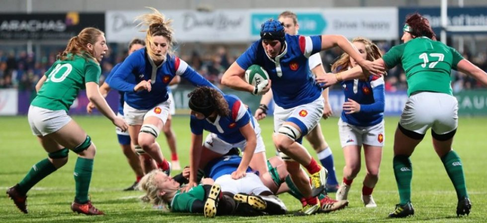 Tournoi des 6 Nations (F/J3) : Le match des Bleues en Irlande incertain