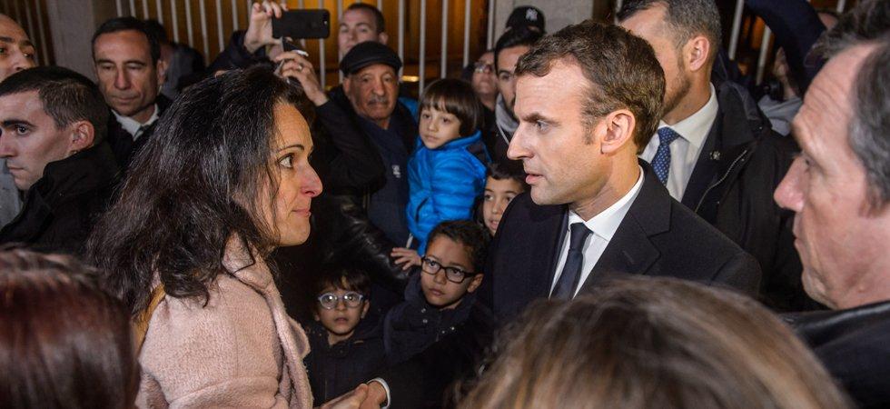 """Résultat de recherche d'images pour """"Macron interpellé"""""""
