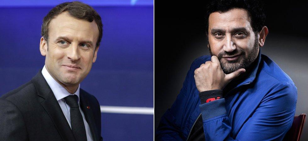 Video Tpmp Cyril Hanouna Appelle Emmanuel Macron En Direct Pour