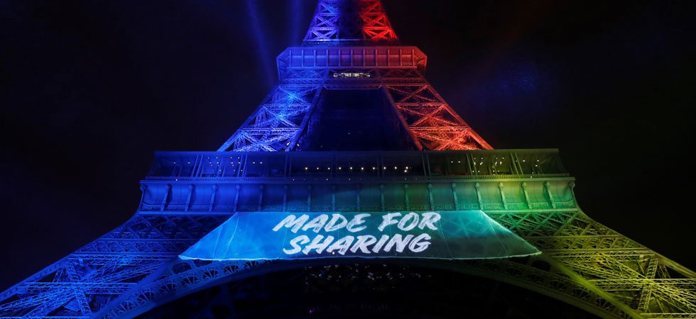 """Made for sharing"", le slogan de Paris 2024 attaqué en justice"