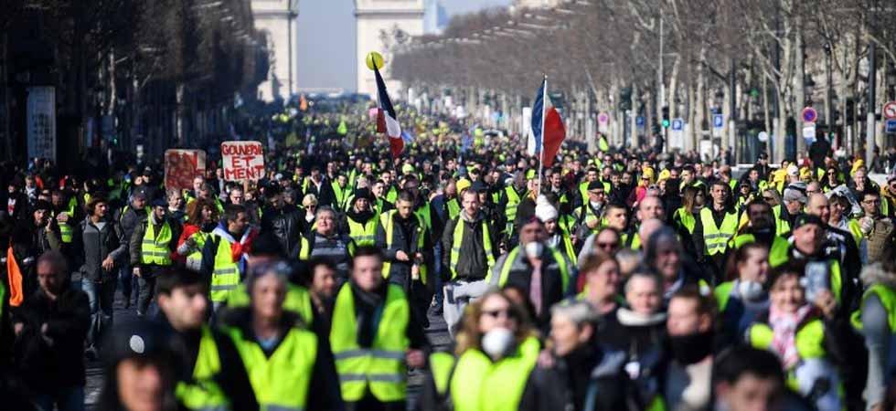 """foto de Acte 14 des """"gilets jaunes"""" : entre 41 500 et 101 000"""