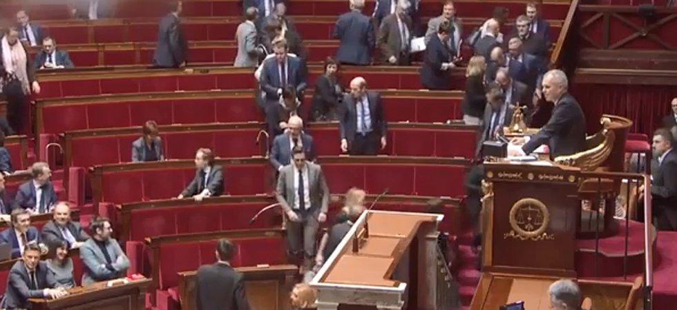 Gros incident de séance à l'Assemblée: les députés de l'opposition quittent l'hémicycle