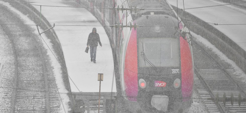 "Neige : restrictions de circulation en Île-de-France, la SNCF en ""pré-alerte"""