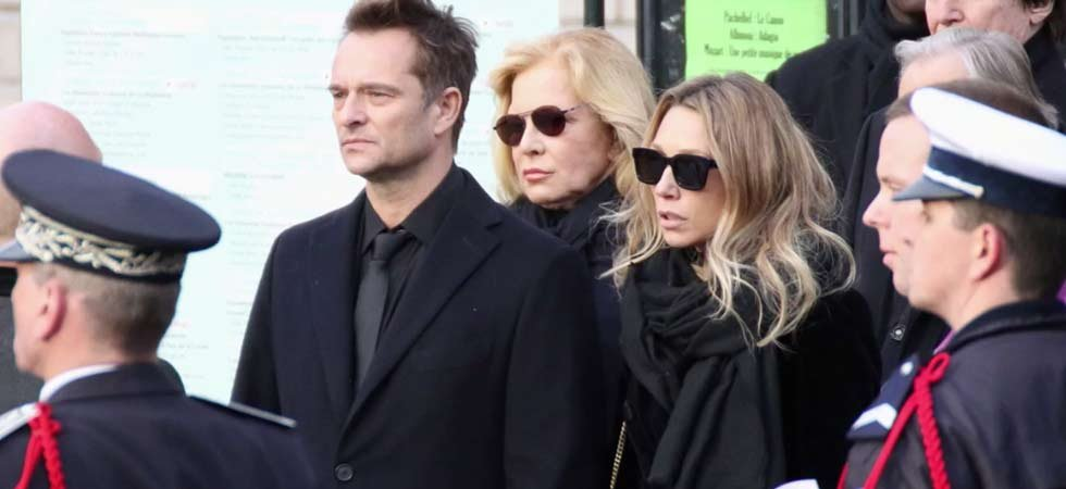 Le clan Hallyday rend hommage à France Gall