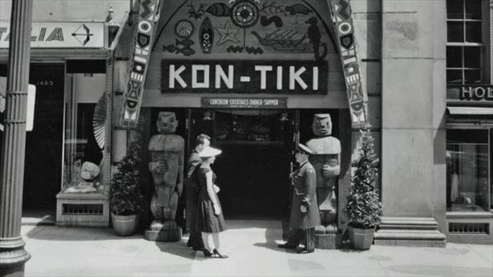 Hollywood et la vague Tiki