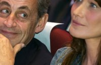 Le touchant message de Carla Bruni-Sarkozy à son mari